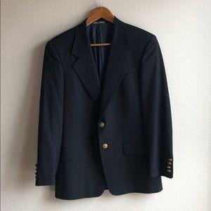 VALENTINO Classic Navy Two Button Blazer